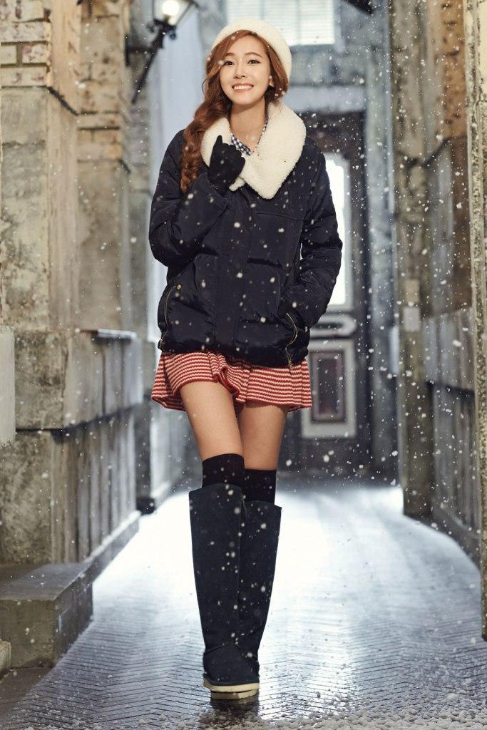 Snsd Jessica Soup Winter 2014 Collection Photoshoot Kpopgirlsinindia