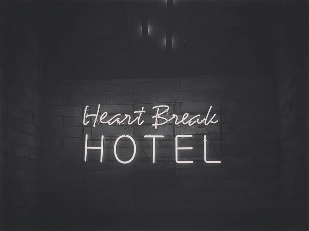 tiffany heart break hotel